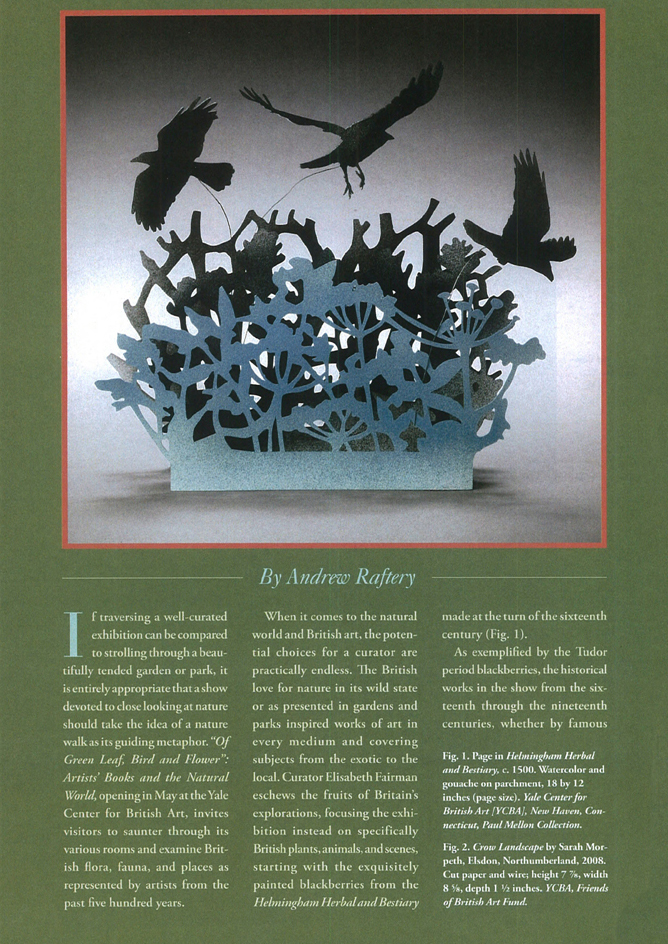 Touching Nature | Andrew Raftery In Antiques Magazine